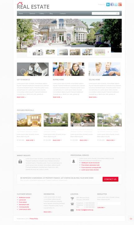 PSD макет сайта №57409