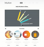 Web design PSD  Template 57410