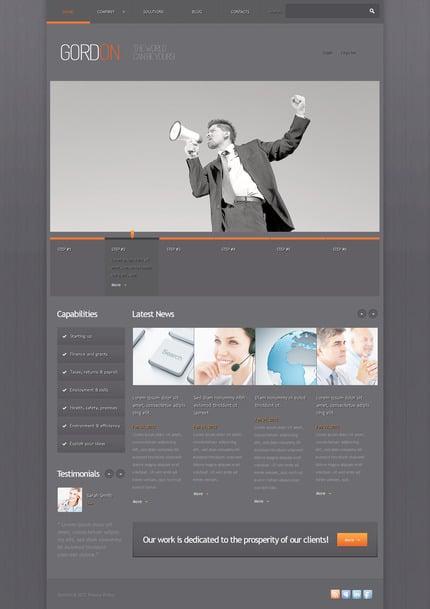 PSD макет сайта №57412
