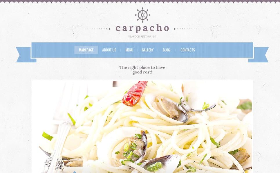 PSD Template over Visrestaurant New Screenshots BIG