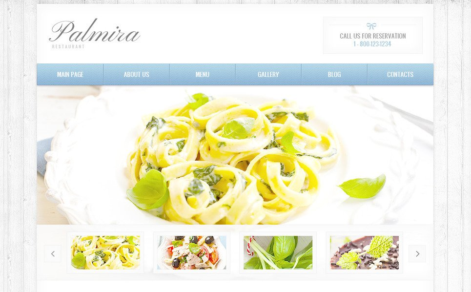 Modèle PSD  pour site de café et restaurant New Screenshots BIG