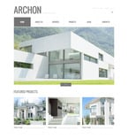 Architecture PSD  Template 57422
