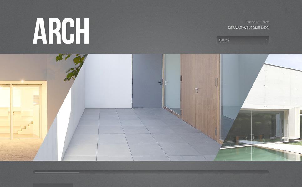 Template PSD  #57424 per Un Sito di Società di Costruzioni New Screenshots BIG