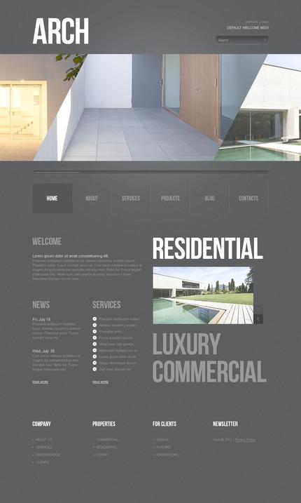 PSD макет сайта №57424