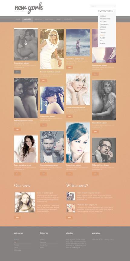 PSD макет сайта №57426