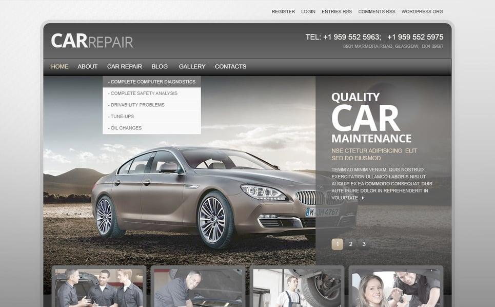 PSD Vorlage für Autoreparatur  New Screenshots BIG