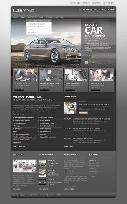 PSD макет сайта №57427