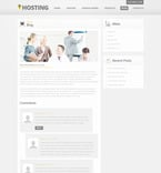 Web Hosting PSD  Template 57435