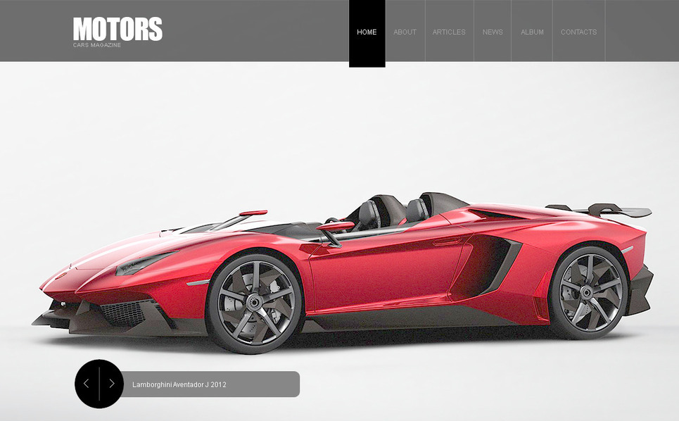 Template Photoshop  para Sites de Carro №57436 New Screenshots BIG