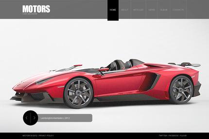 PSD макет сайта №57436