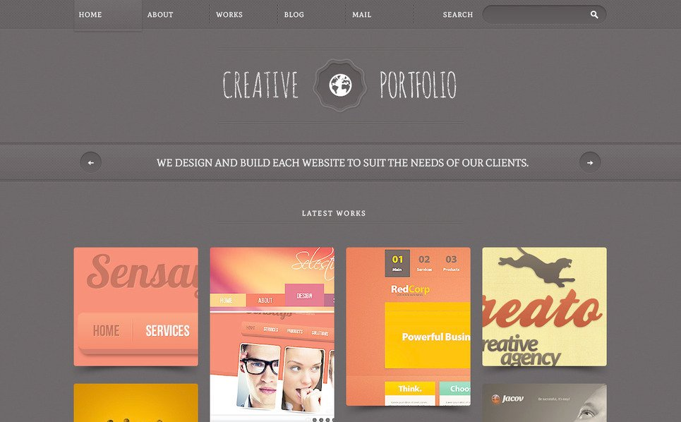 PSD Vorlage für Web Design  New Screenshots BIG