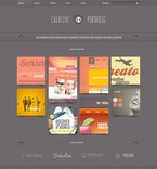Web design PSD  Template 57443