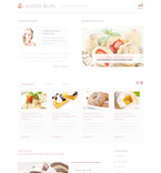 Food & Drink PSD  Template 57444