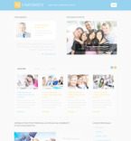 Education PSD  Template 57445