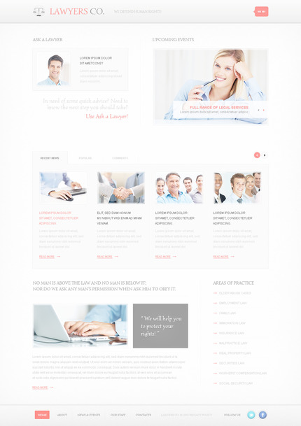 ADOBE Photoshop Template 57446 Home Page Screenshot