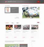 Sport PSD  Template 57447