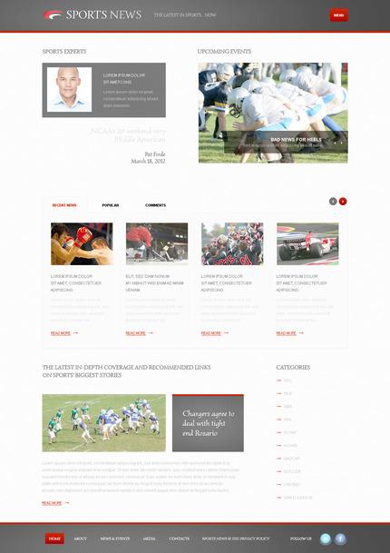 PSD макет сайта №57447