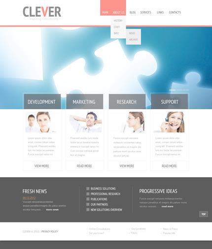 PSD макет сайта №57448