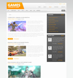 Games PSD  Template 57454