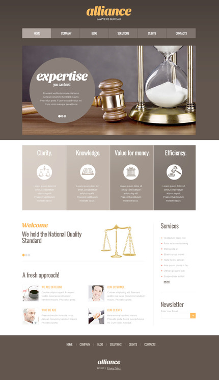 Website Template #57456