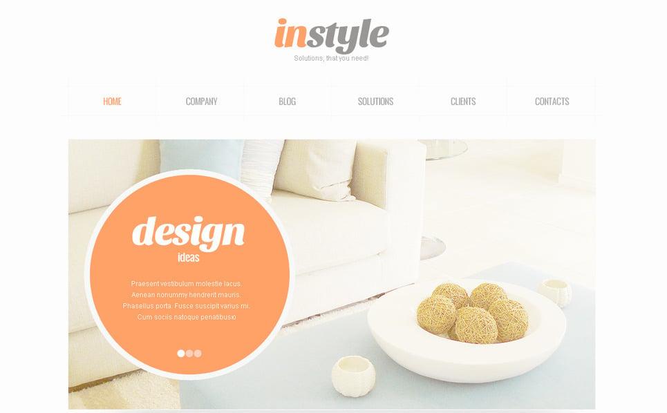 PSD šablona Design interiéru New Screenshots BIG