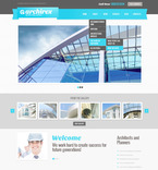 Architecture PSD  Template 57459
