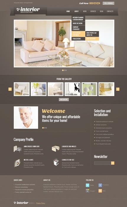 PSD макет сайта №57460