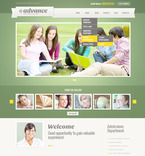 Education PSD  Template 57462