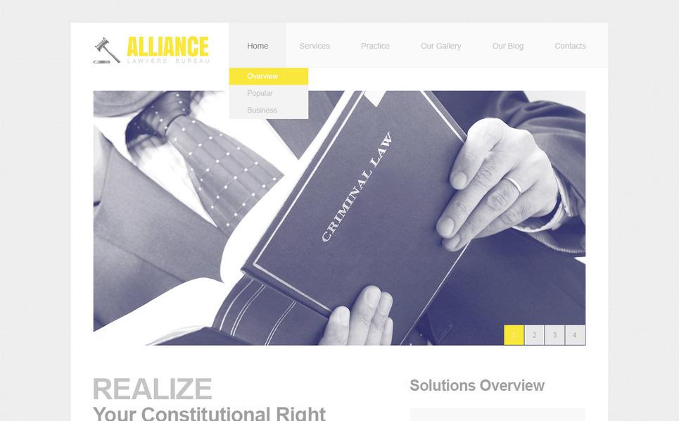 PSD Vorlage für Anwaltskanzlei  New Screenshots BIG