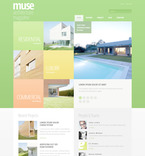 Architecture PSD  Template 57477