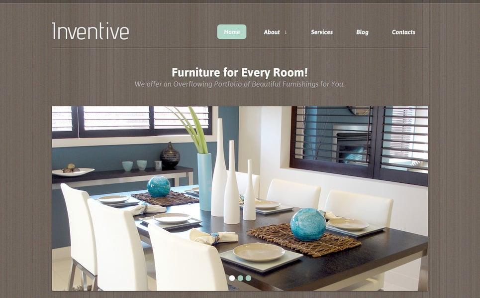 Template Photoshop  para Sites de Design Interior №57480 New Screenshots BIG