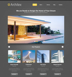 Architecture PSD  Template 57481