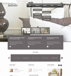 Furniture PSD  Template 57486