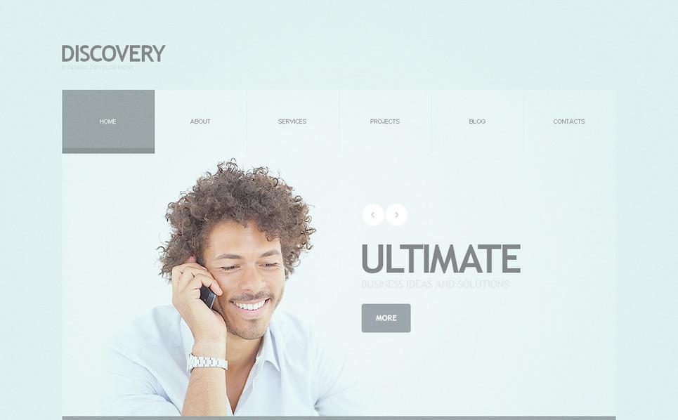 Szablon PSD #57492 na temat: biznes i usługi New Screenshots BIG