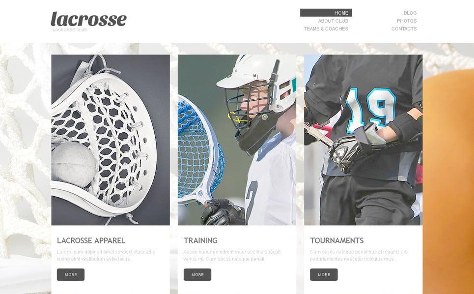 Szablon PSD #57495 na temat: sport New Screenshots BIG