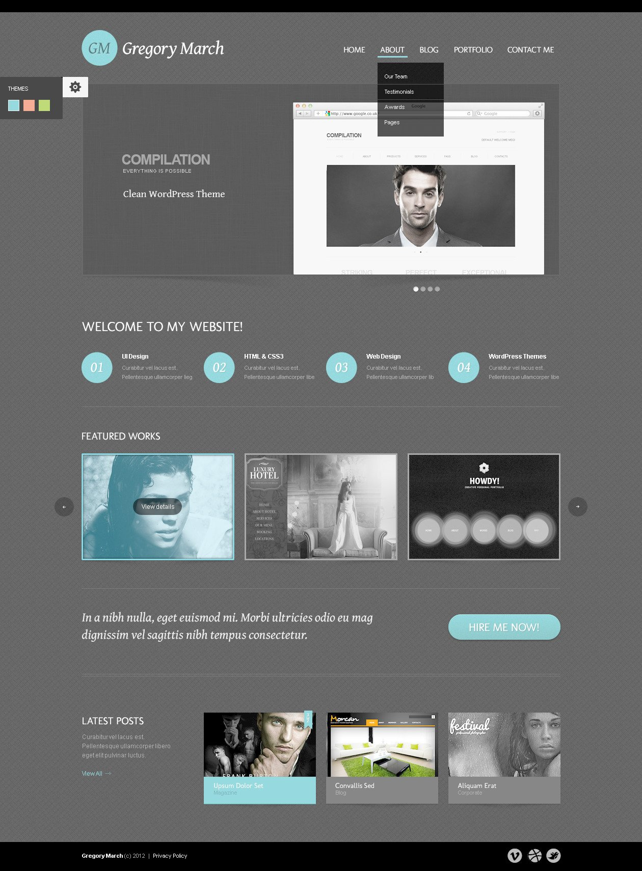 Photo Gallery Web Templates