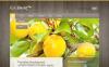 Plantilla PSD para Sitio de Agricultura New Screenshots BIG
