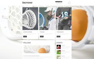 Sport PSD Template