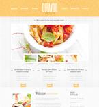 Cafe & Restaurant PSD  Template 57500