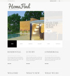 Real Estate PSD  Template 57504