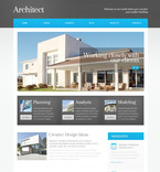 Architecture PSD  Template 57506