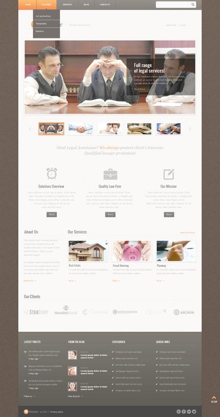 PSD макет сайта №57517