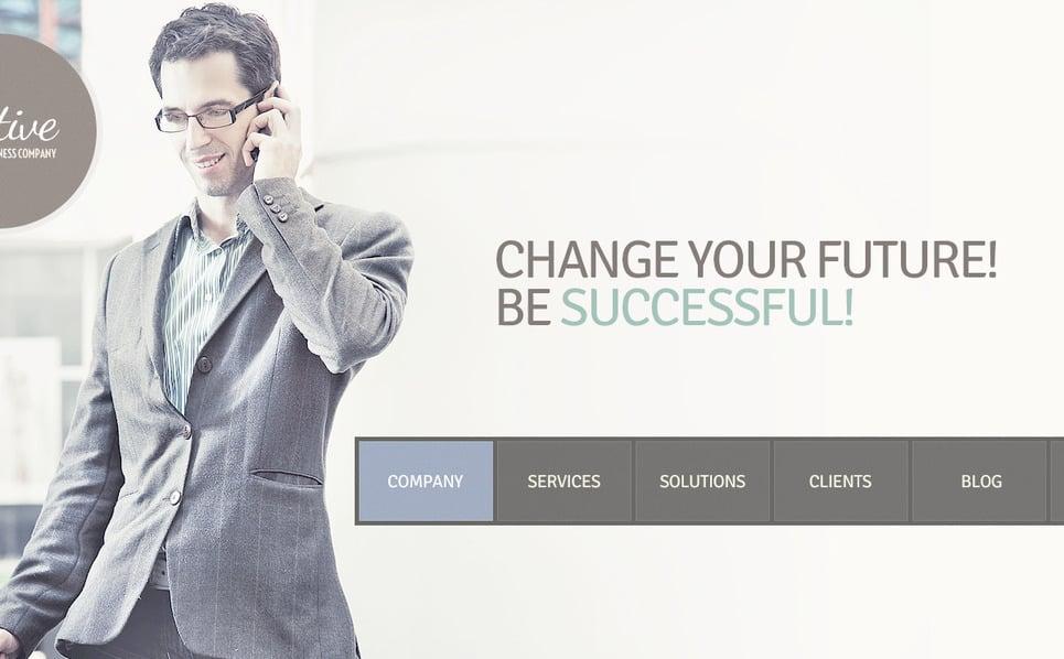 Plantilla PSD #57521 para Sitio de Negocio y Servicios New Screenshots BIG