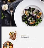 Cafe & Restaurant Joomla  Template 57555