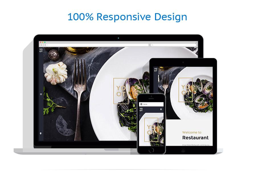 Thèmes Joomla Café et Restaurant #57555