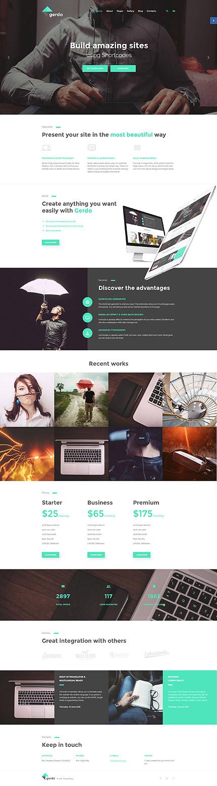 Joomla Theme/Template 57556 Main Page Screenshot
