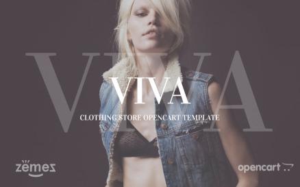 VIVA OpenCart Template