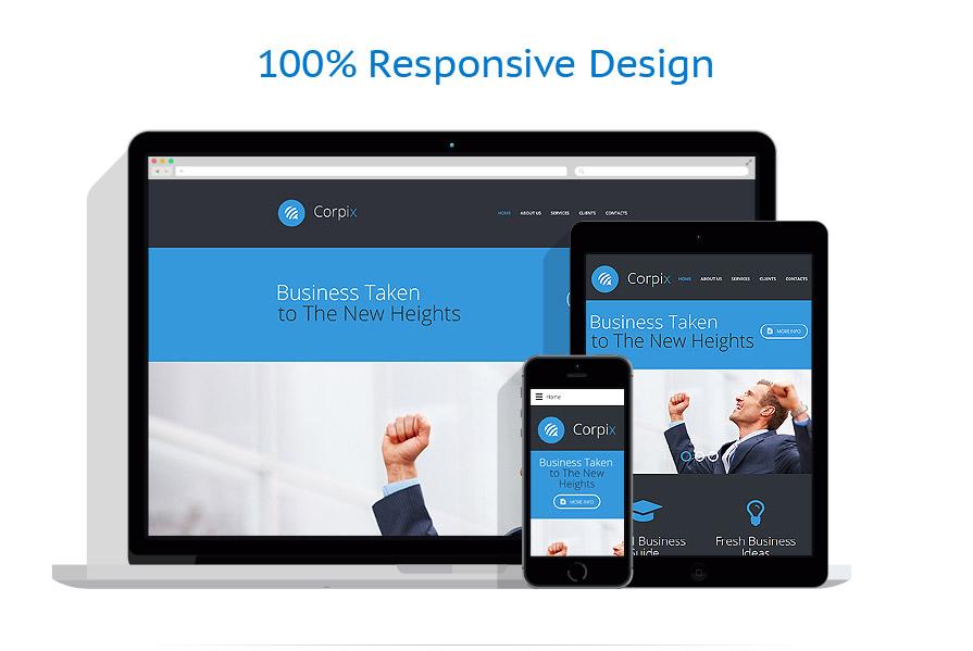 Modèles HTML5 Affaires #57565