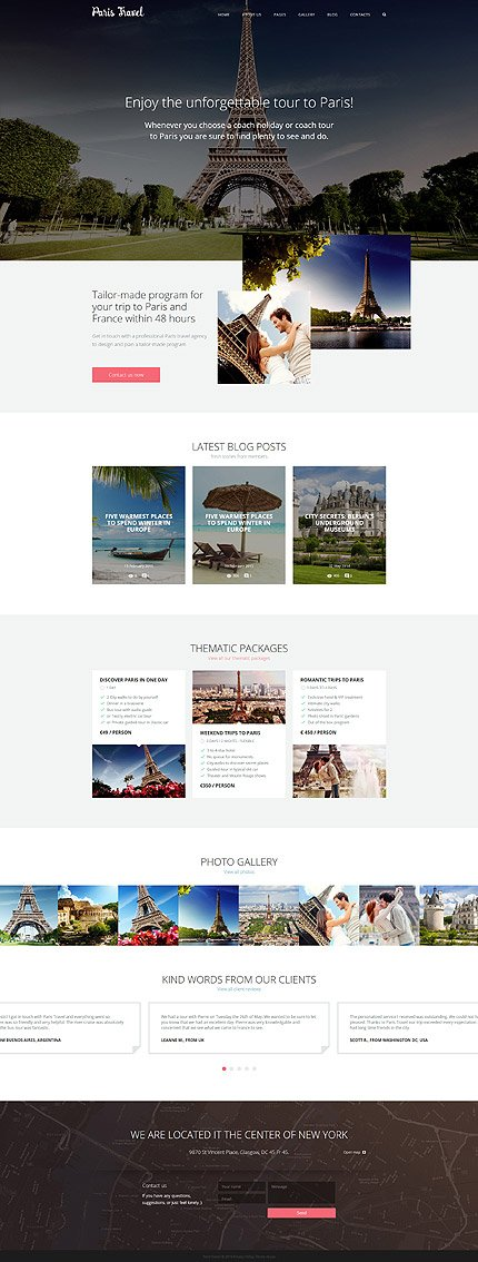 Joomla Theme/Template 57576 Main Page Screenshot