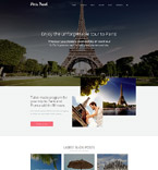 Travel Joomla  Template 57576
